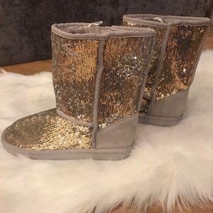 Shoes - Sequin Boots